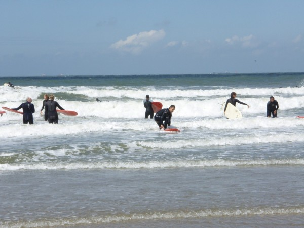 personeelsuitje golfsurfen