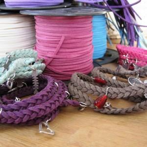 Wikkelarmband maken