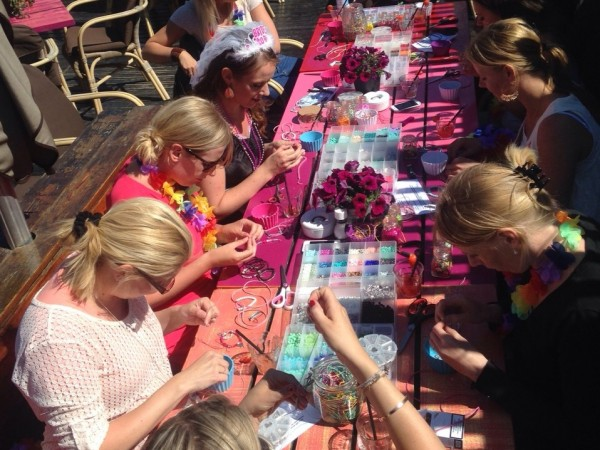 workshop ibiza armbandjes Scheveningen